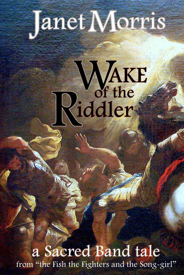 Wake of the Riddler by Janet Morris
