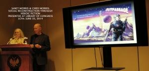 Janet Morris and Chris Morris speak at the Library of Congress, June 25, 2014
