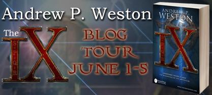 The IX Blog Tour Banner